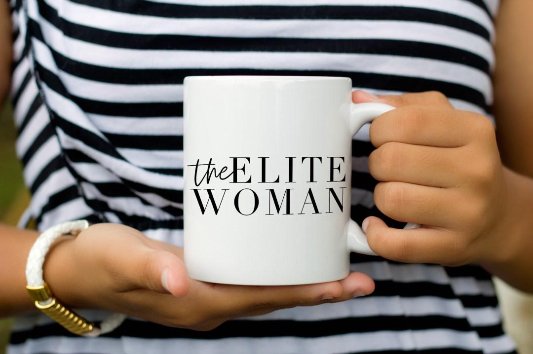 Elite Woman Mug - Life Coach Branding