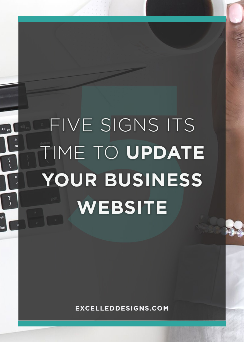 Time to Update Your Business Website