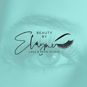 Branding Logo Design Eyelash Extensions Microblading