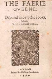 The Faerie Queene by Edmund Spenser title page from 1590