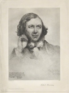 Robert Browning after Field Talfourd collotype, (1859) (NPG D32236) © National Portrait Gallery, London Creative Commons License
