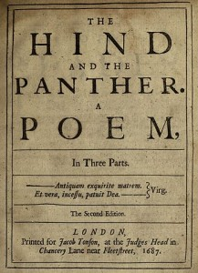 The Hind and the Panther by John Dryden