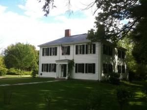 American transcendentalist poet Ralph Waldo Emerson loved his homeland.
