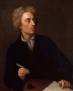 Alexander Pope from studio of Michael Dahl oil on canvas, circa 1727 (NPG 278) © National Portrait Gallery, London Creative Commons License