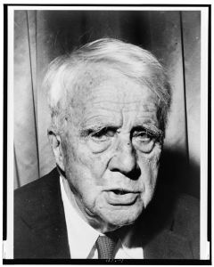 Robert Frost, World-Telegram photo by Walter Albertin, 1961. LOC, LC-USZ62-120740