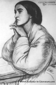 "Christina Rossetti was an English poet best known for ""In the Bleak Midwinter"" and ""Goblin Market."""