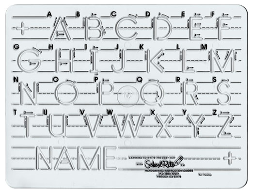 Alphabet Tracing Templates. alphabet alphabet letters and letters ...