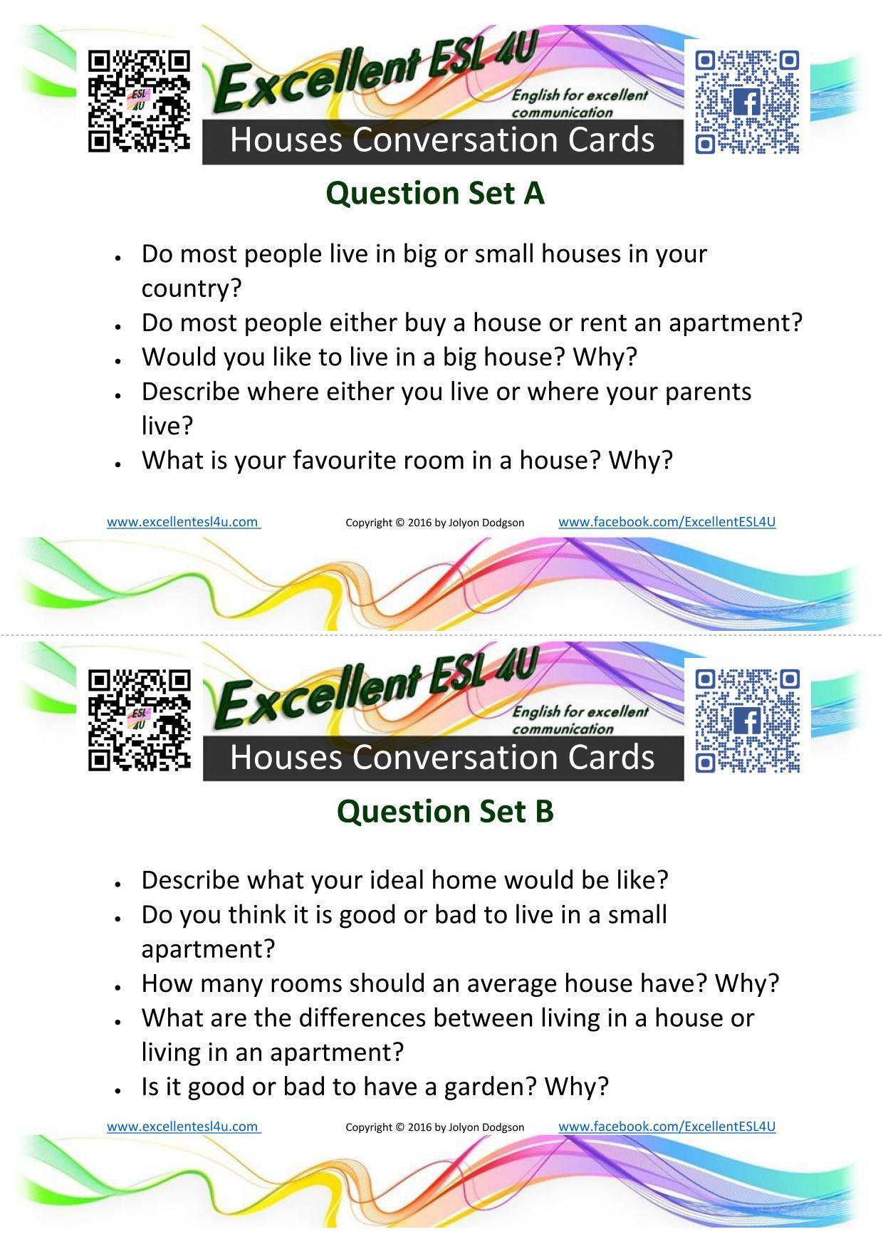 Esl Houses Conversation