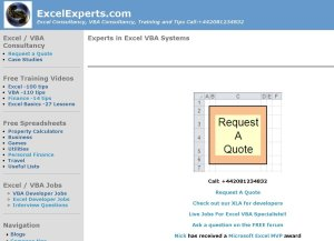 Excel Experts risorse per