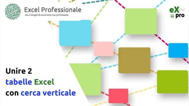 unire 2 tabelle Excel