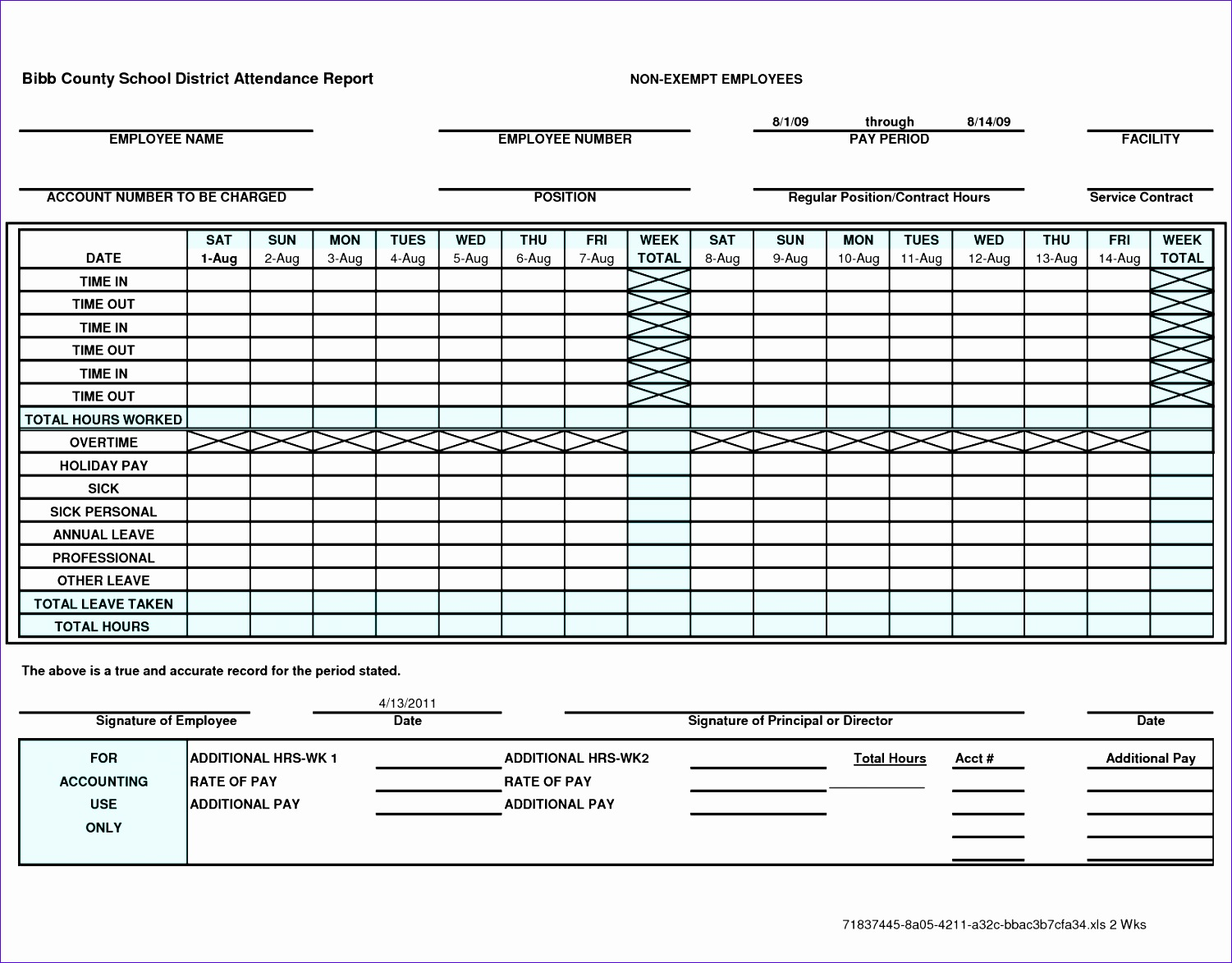 10 Bi Publisher Excel Template