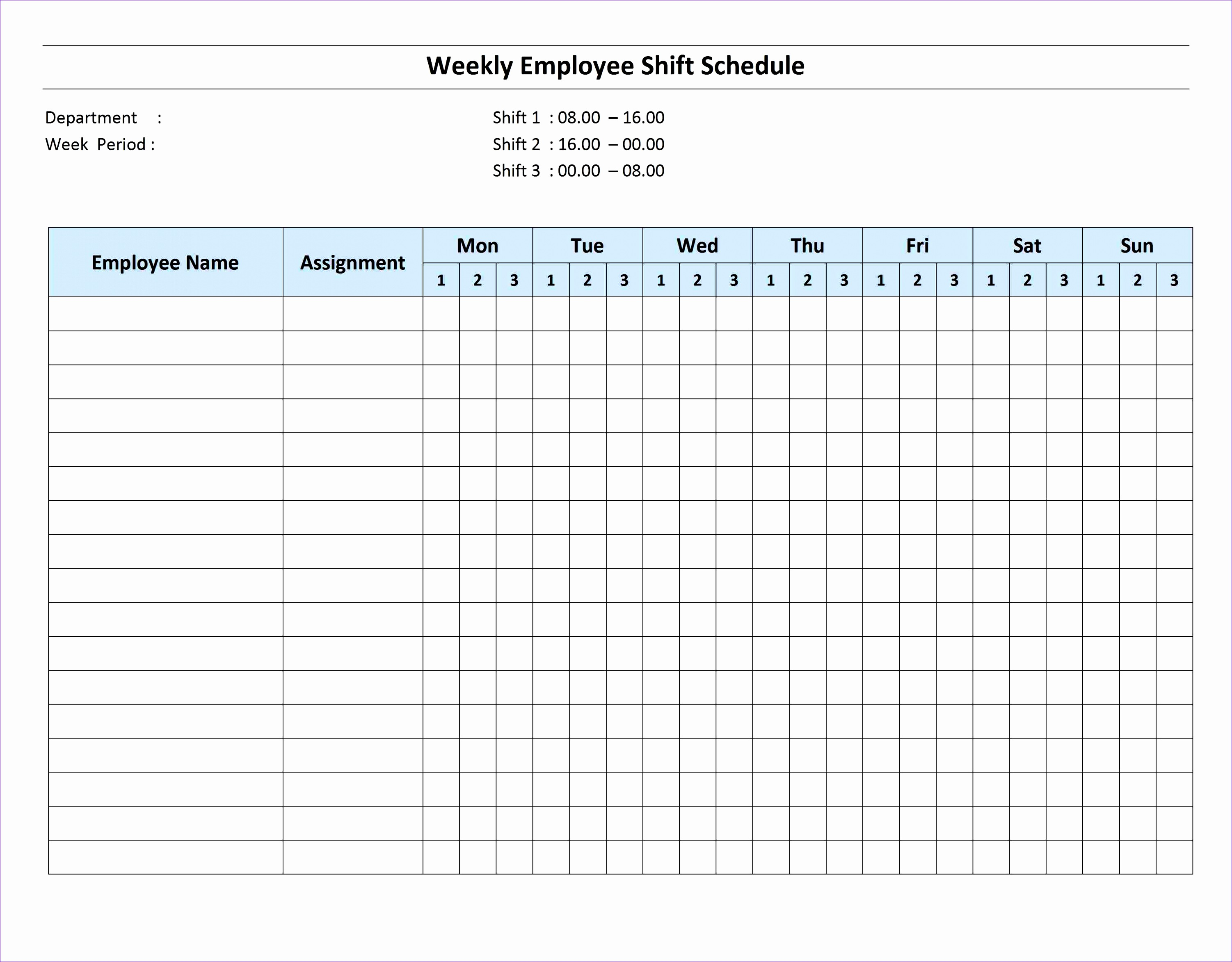 6 Employee Performance Review Template Excel
