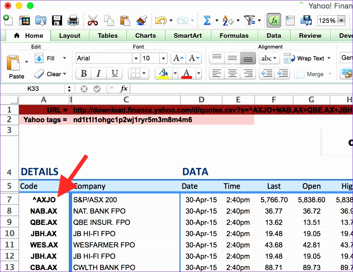 9 Excel Stock Quotes Template