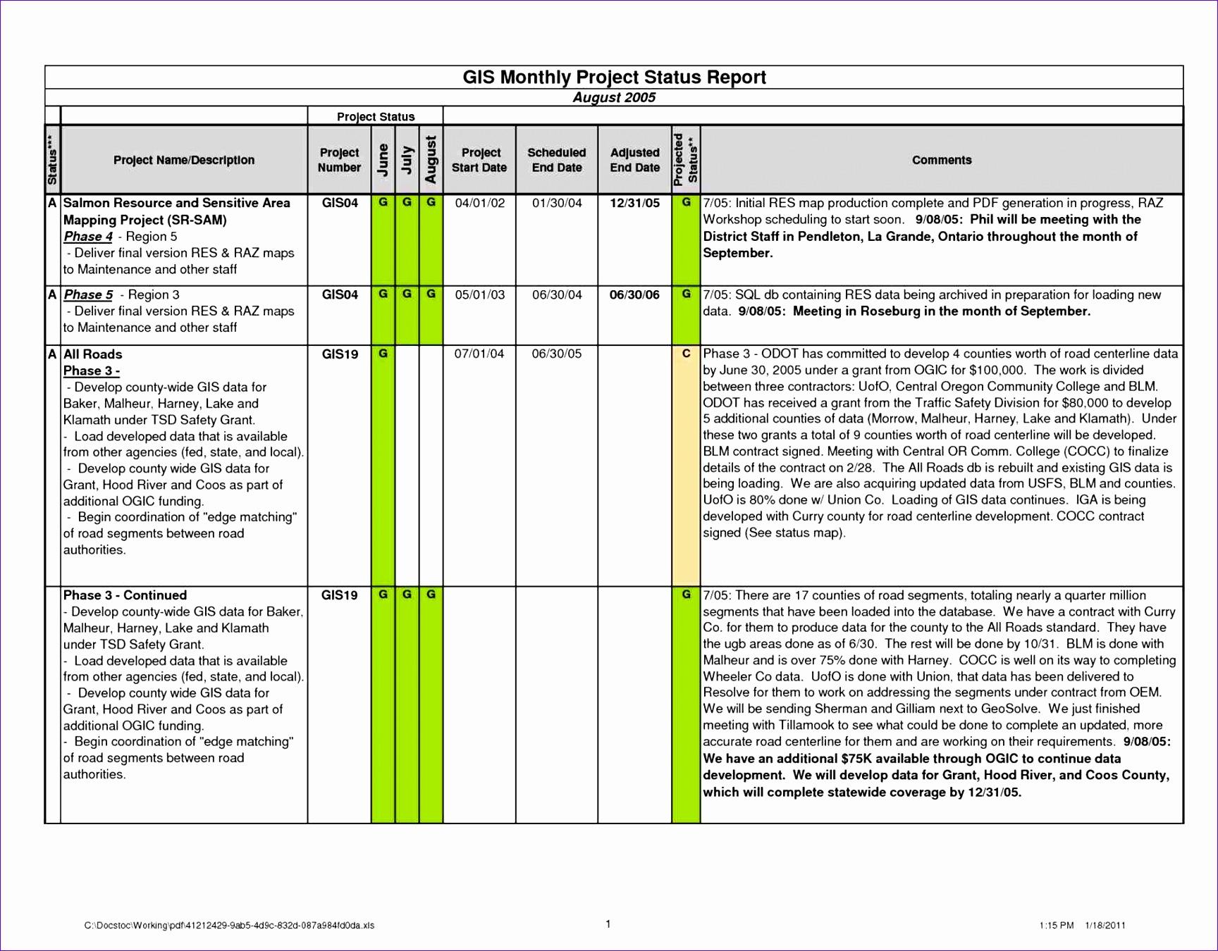 10 Gantt Chart Excel Template
