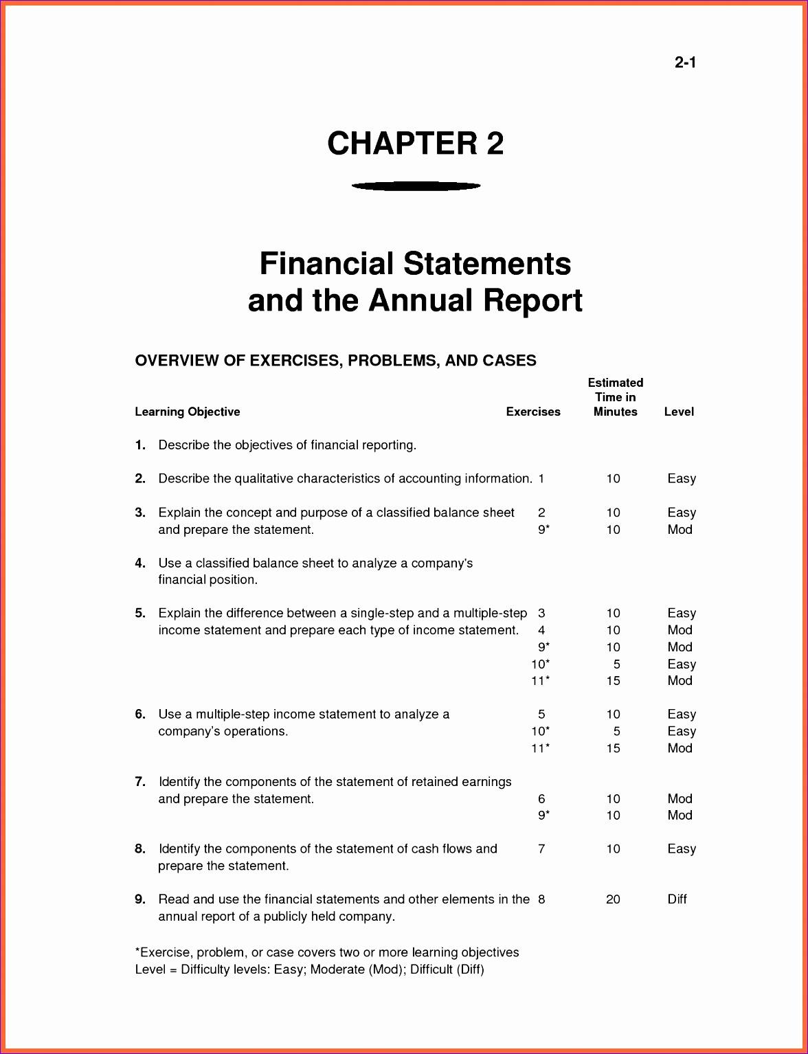 11 Income Statement Balance Sheet Cash Flow Template Excel