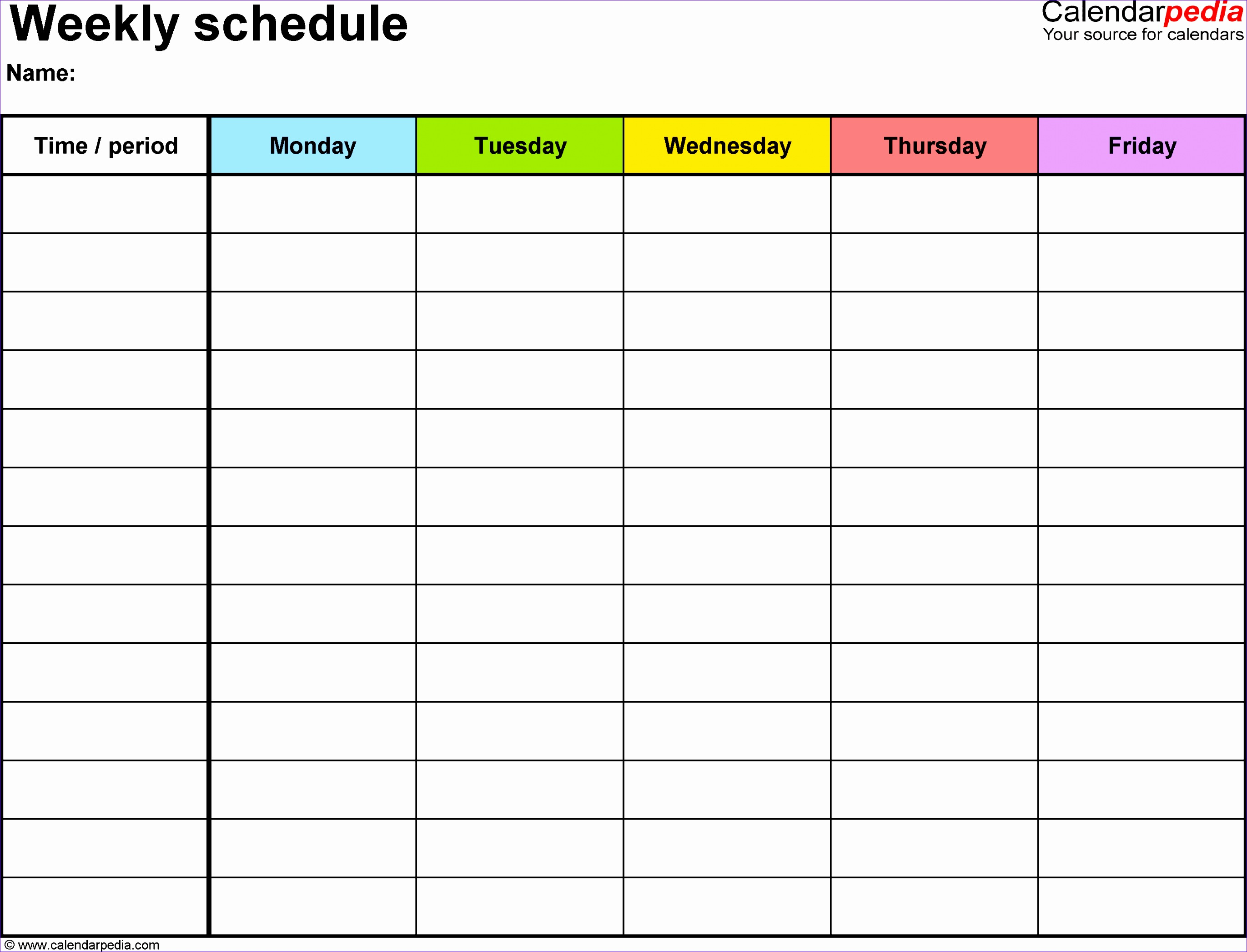 9 On Call Schedule Template Excel