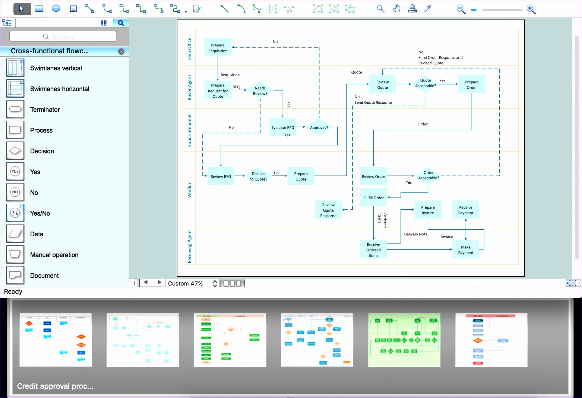 8 Organization Flow Chart Template Excel
