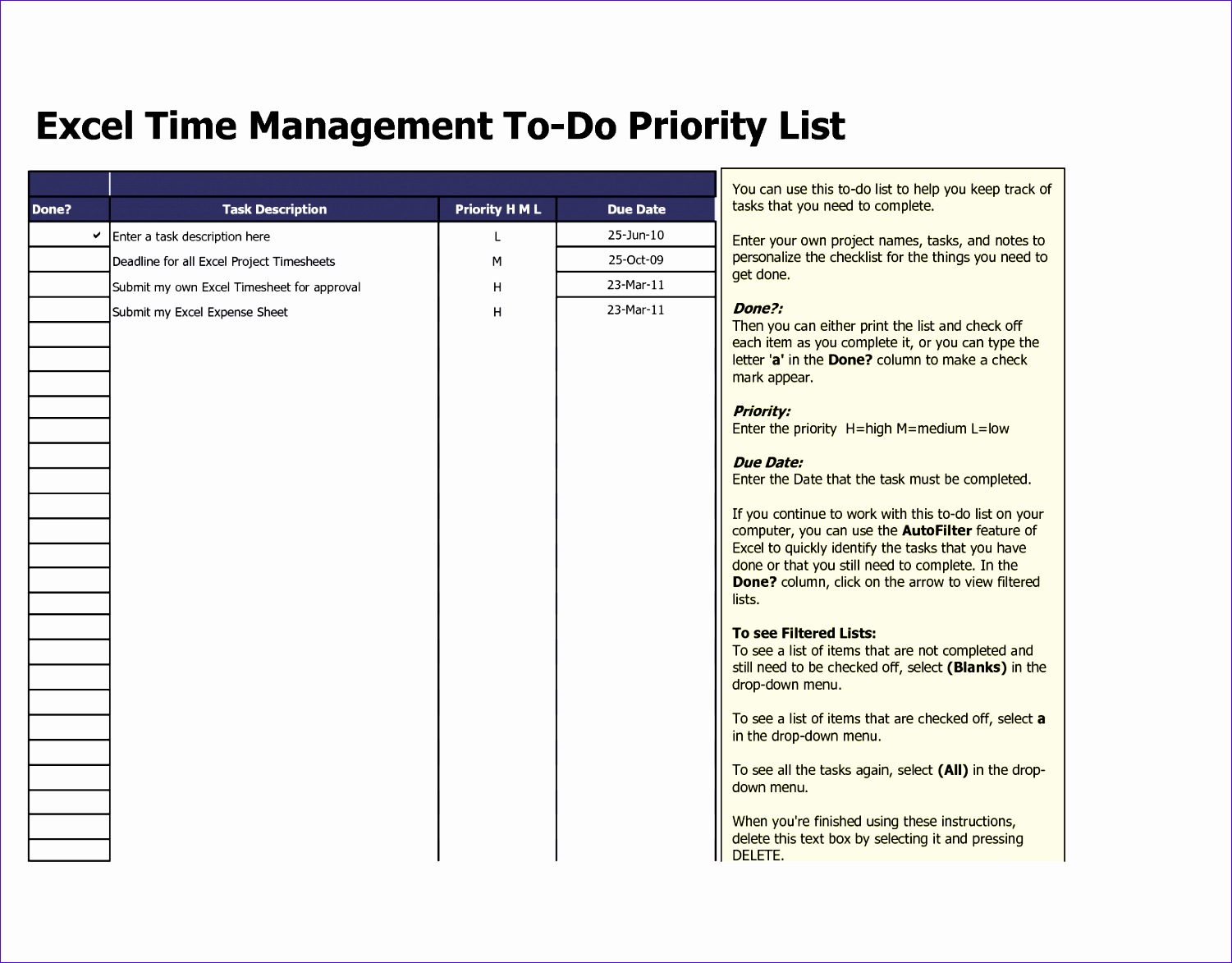 11 Quality Checklist Template Excel