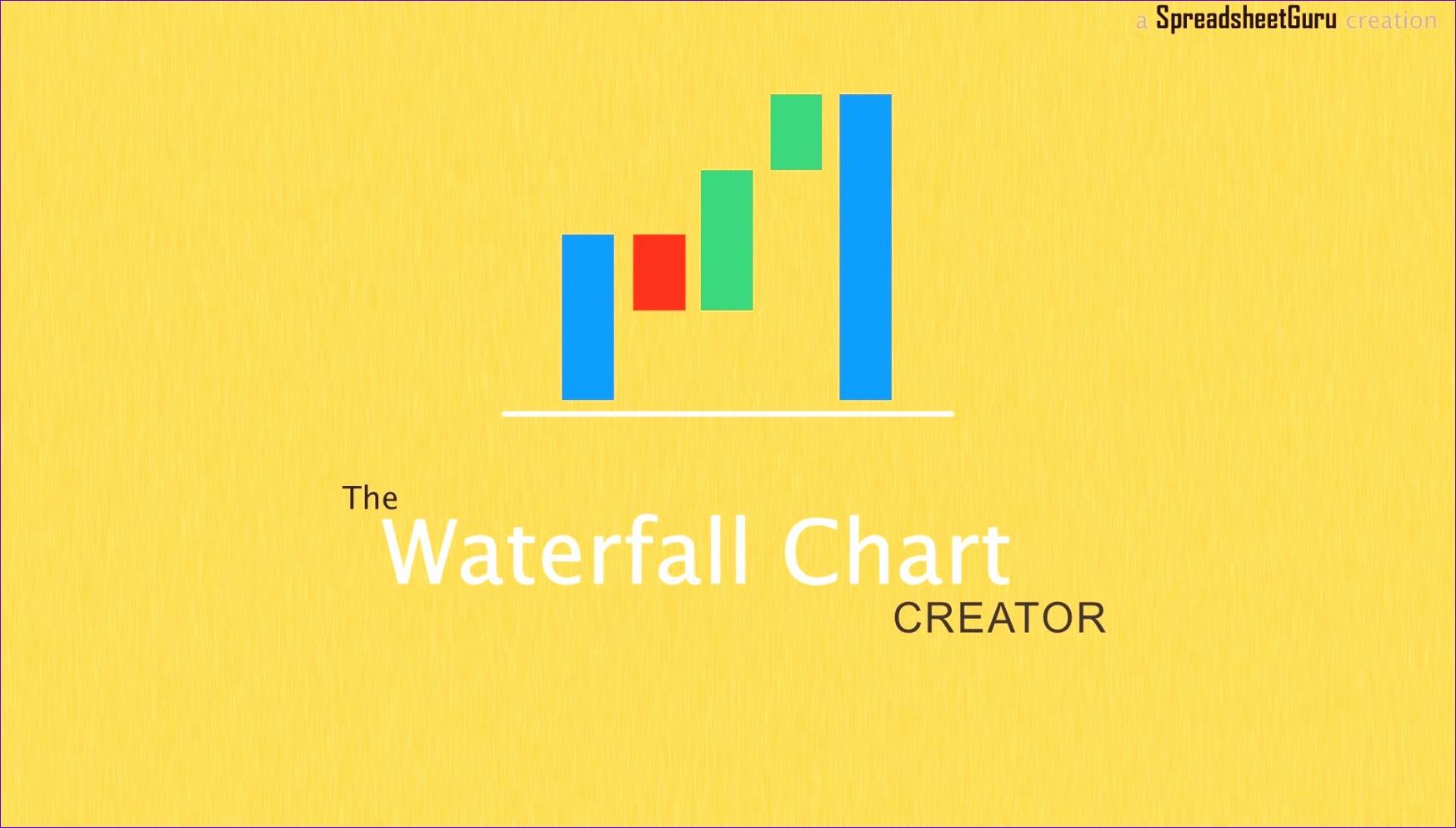 7 Waterfall Diagram Excel Template