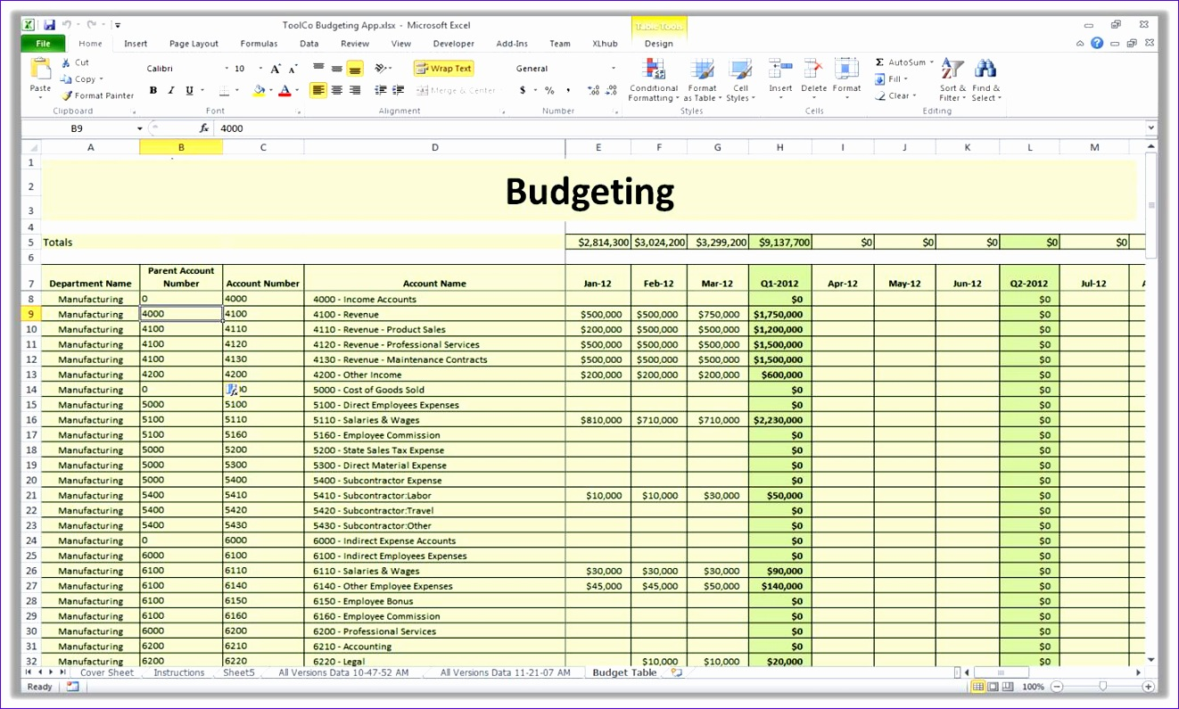 8 Business Expense Template Excel Free