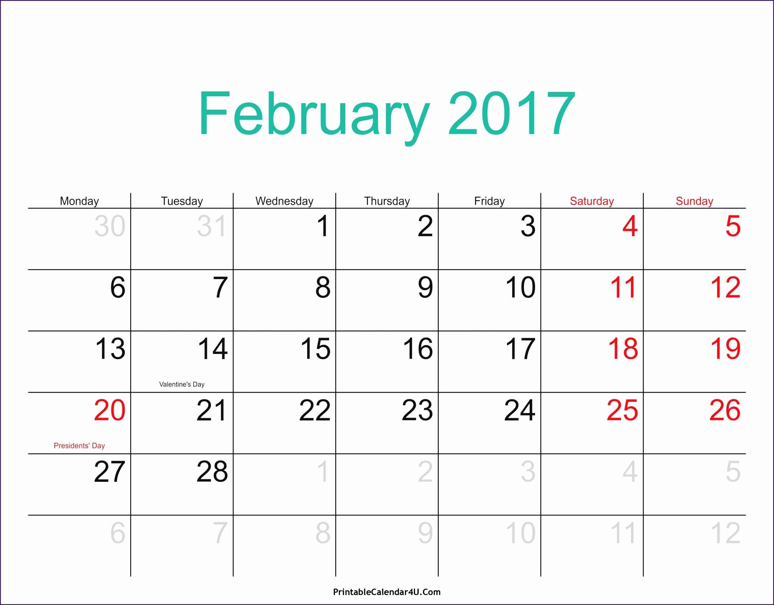 10 Calendar Excel Template