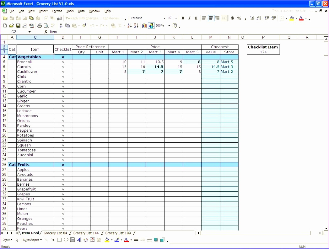 6 Costysis Template Excel