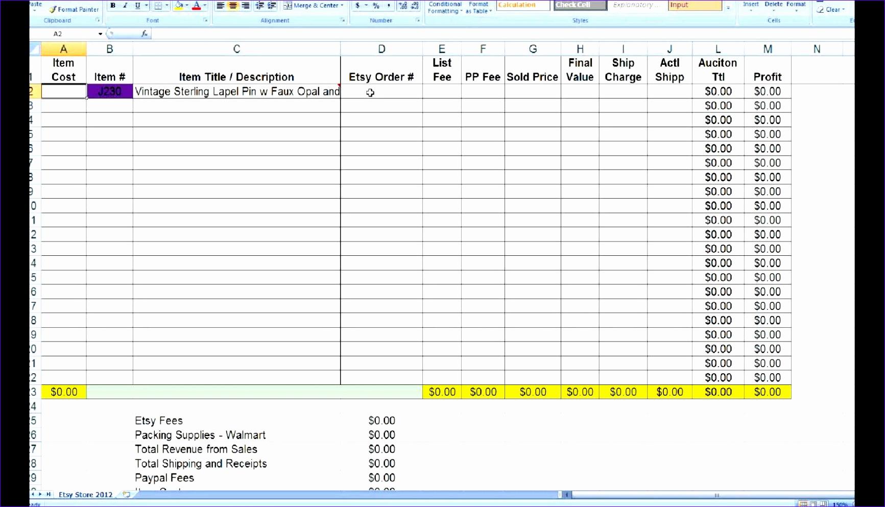10 Excel Estimating Templates