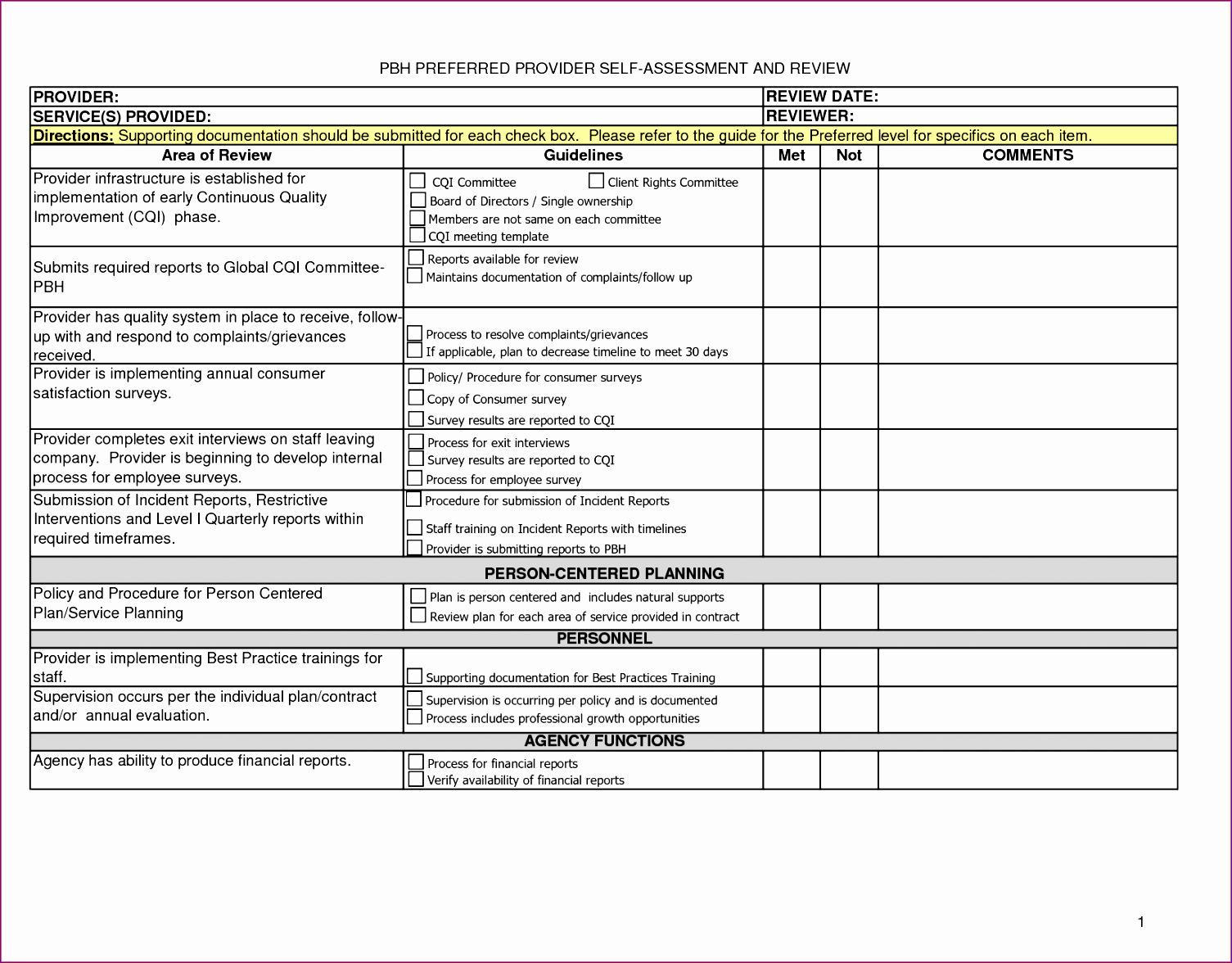 12 Excel Meeting Agenda Template