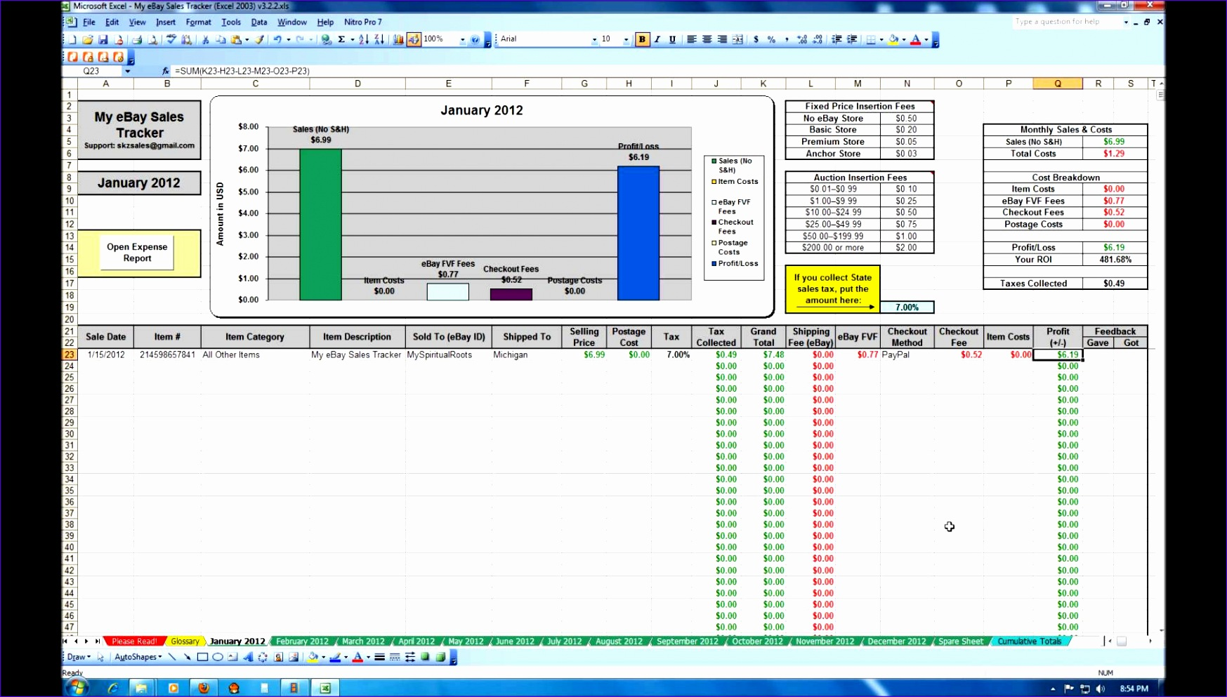 10 Excel Sales Tracking Template