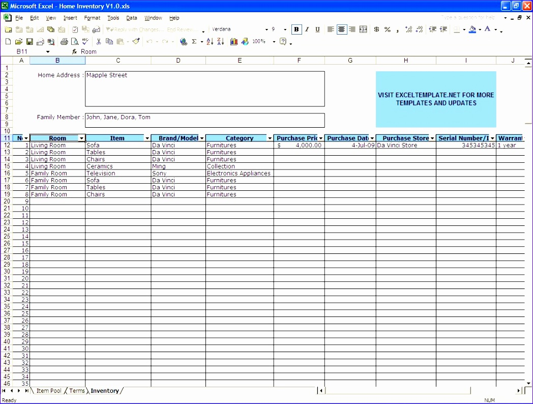 12 Income Statement Excel Template