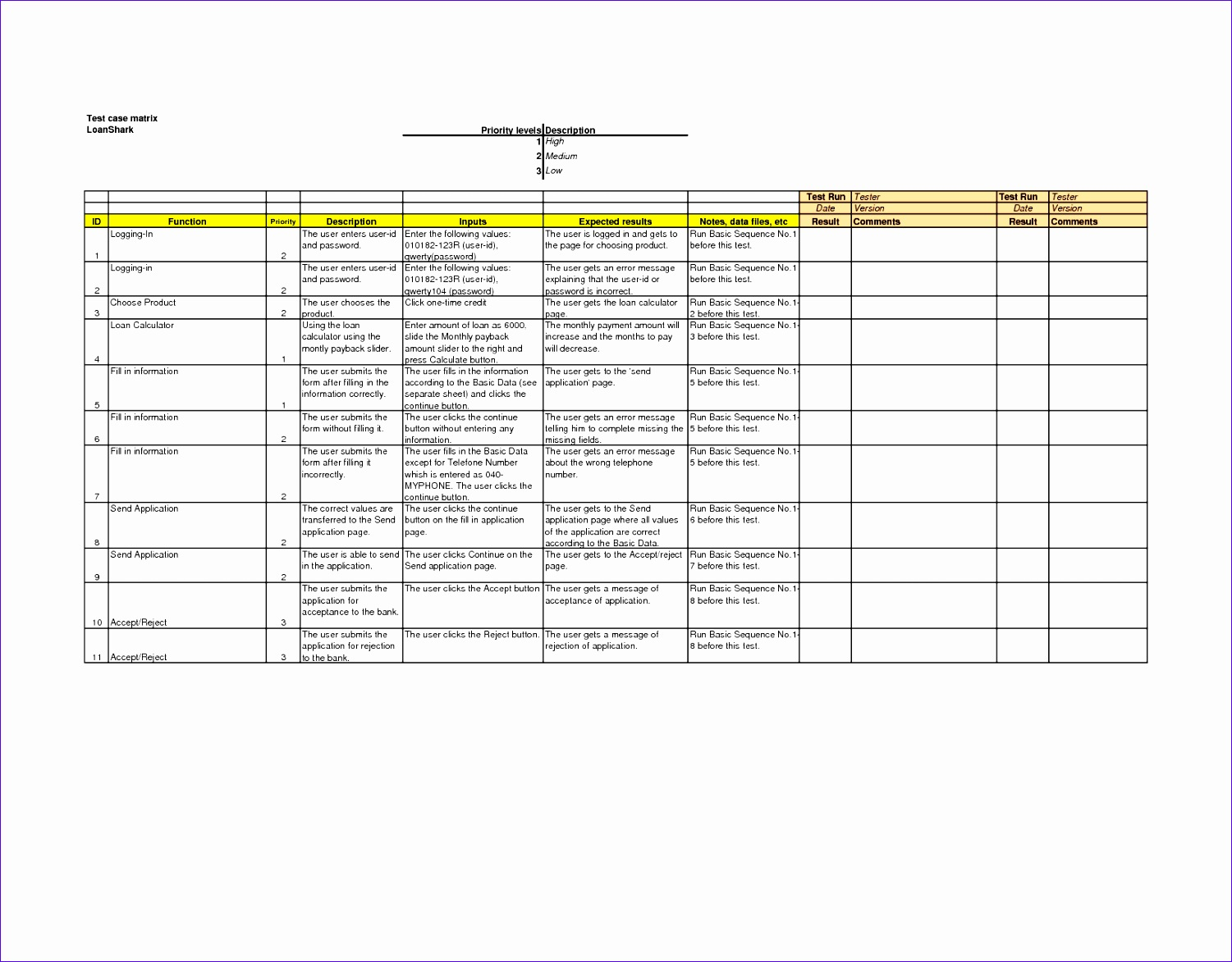 10 Microsoft Excel Database Template