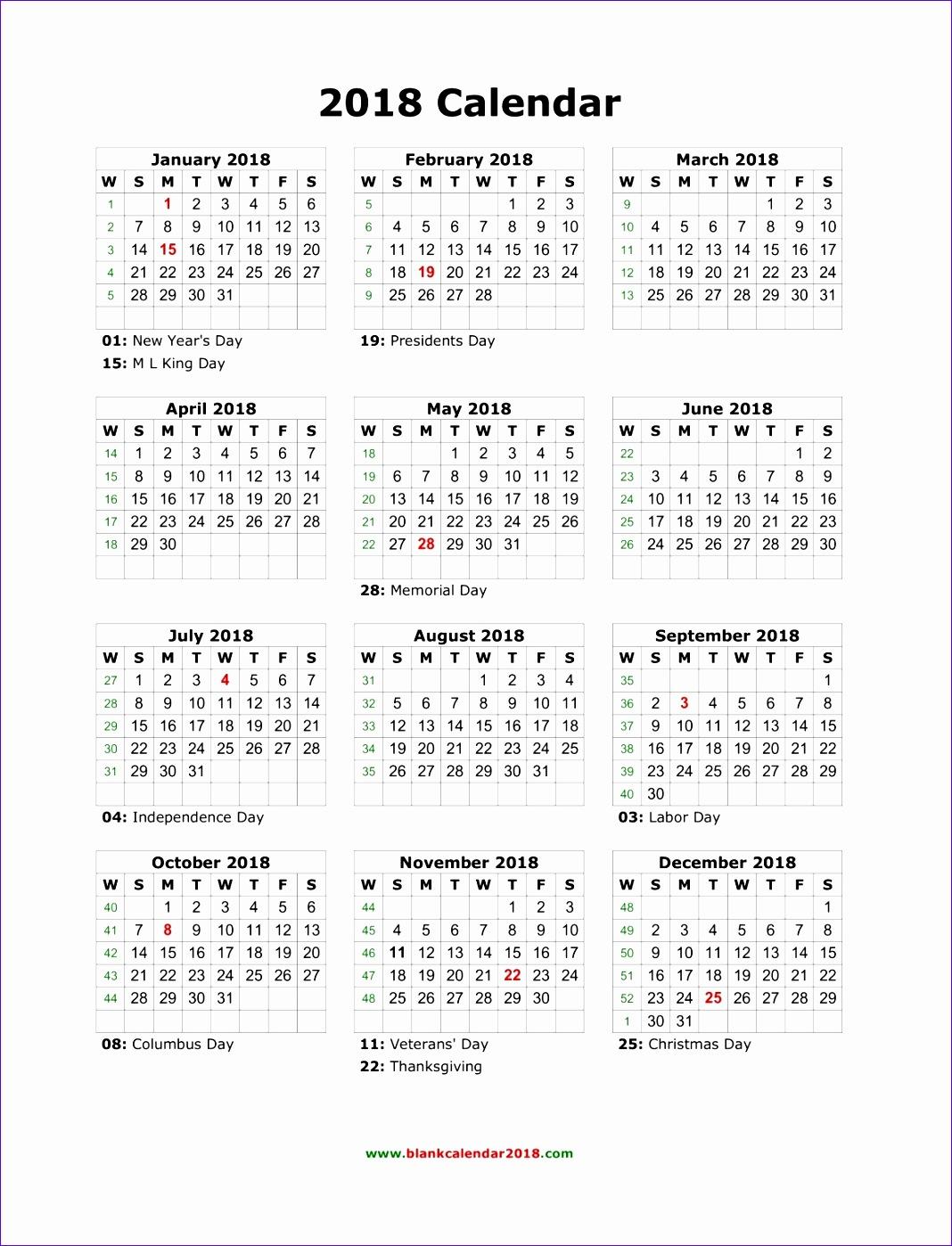 8 Schedule Excel Template