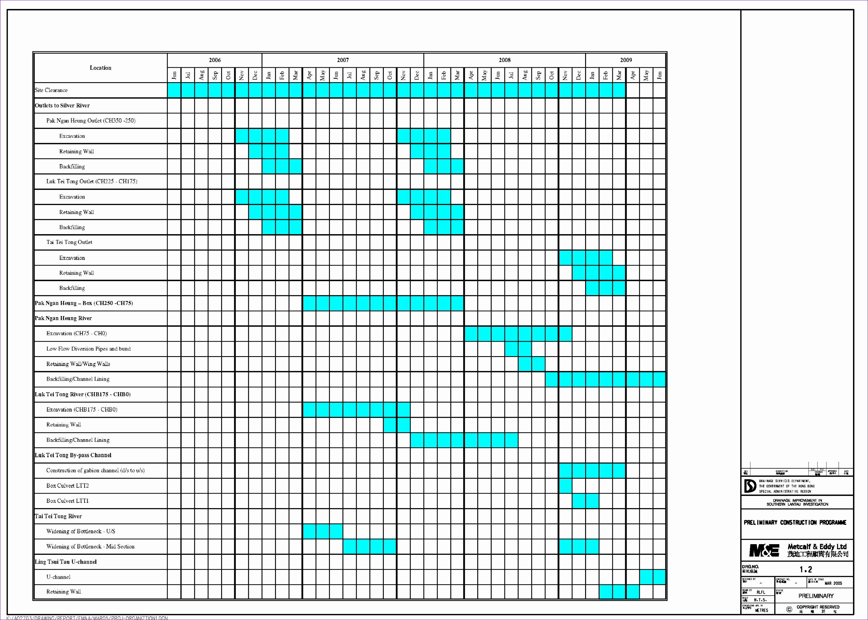 8 Scheduling Excel Template