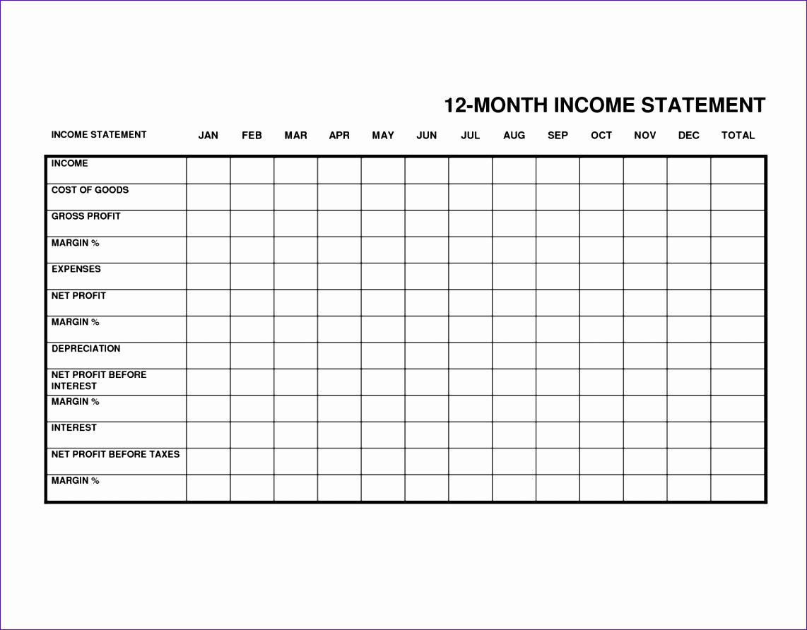 12 Simple Excel Spreadsheet Templates