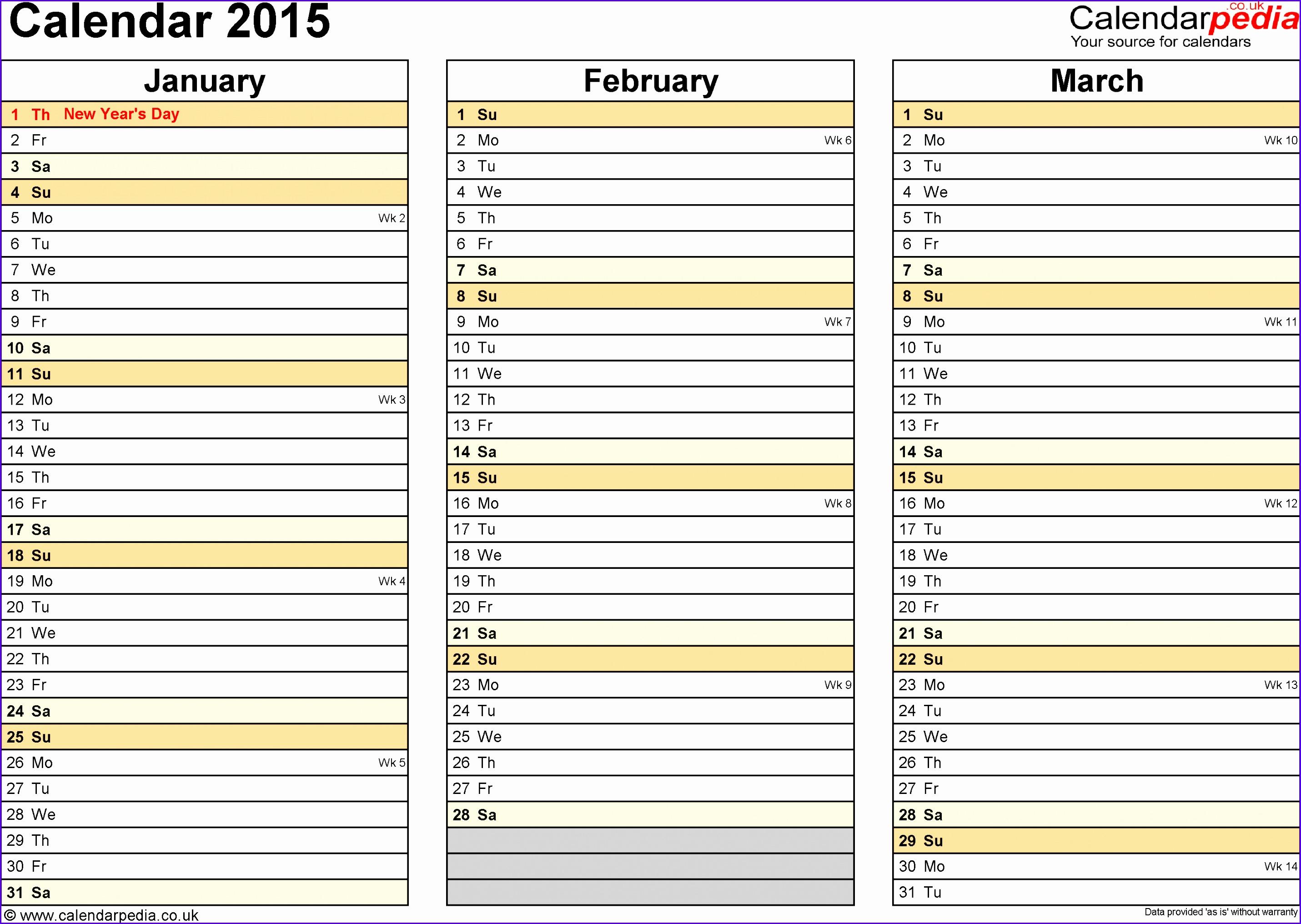 8 Microsoft Excel Templates