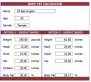 how to calculate fat percentage koni polycode co