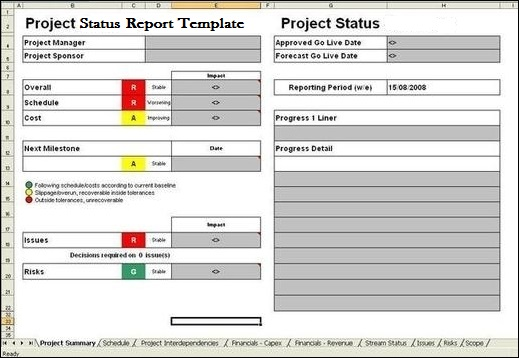 dexform internet collection of free forms and templates project – Monthly Work Report Template