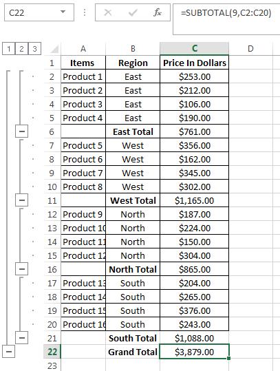 Subtract dates in excel