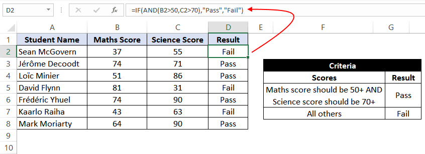 if and statement excel