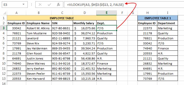 VLOOKUP in VBA paste formula