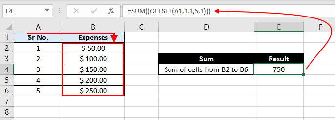 Offset-Function-In-Excel-Example-06