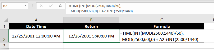 Add_Minutes-to-Datetime-in-excel