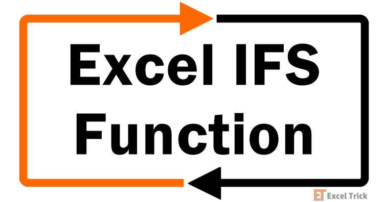 Excel IFS --Function