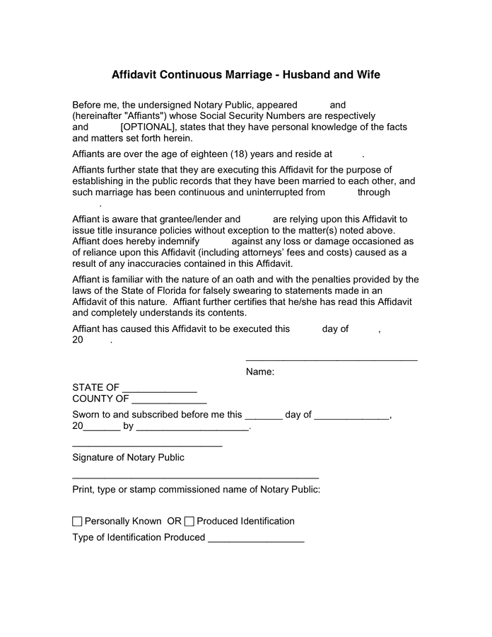marriage-affidavit-form101