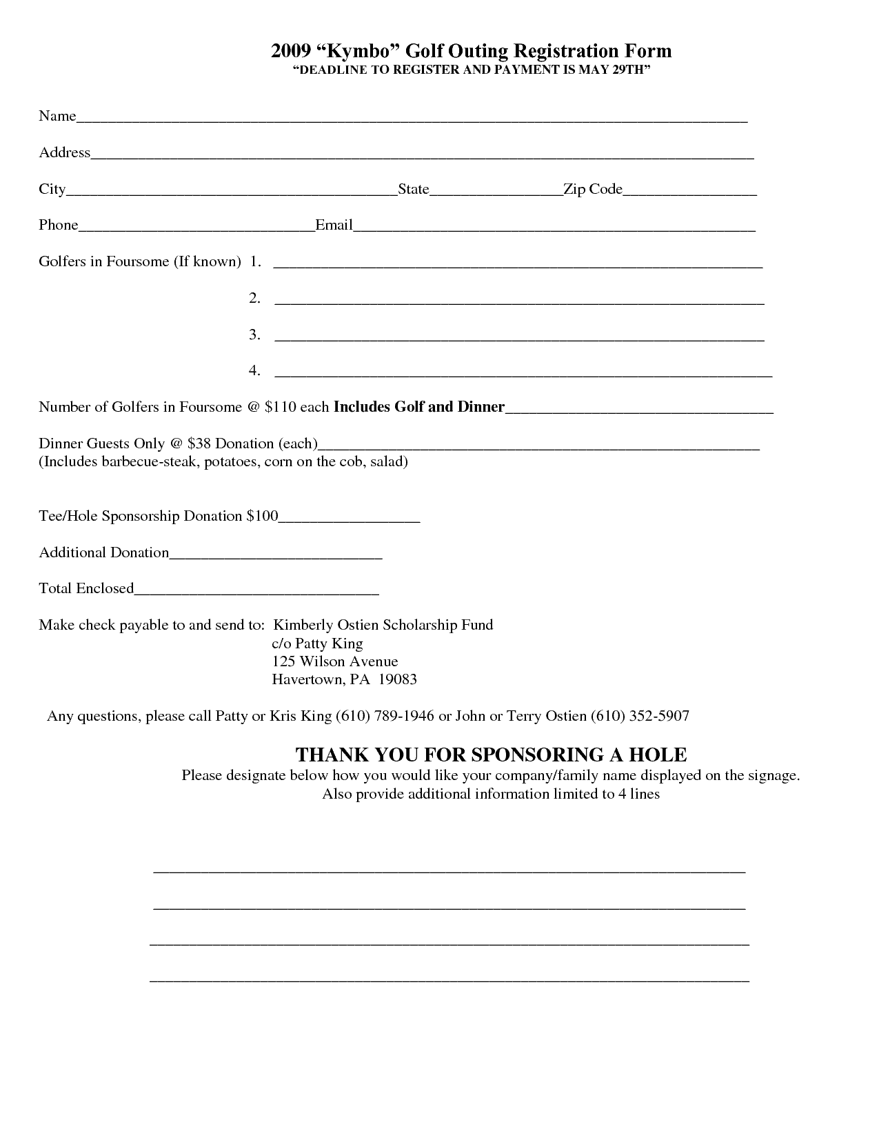 Registration Form Template 404  Customer Registration Form Sample