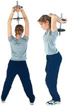 ejercicio para brazos triceps