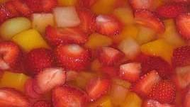Postre frutado