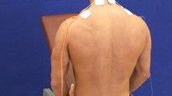 Como colocar los electrodos en los hombros
