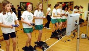 Videojuegos ayudan a los niños a quemar calorías