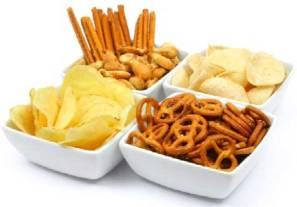 """Los adolescentes que comen """"snacks"""" menos propensos a tener sobrepeso"""